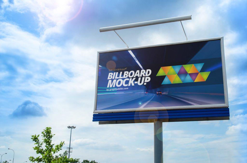 Free PSD Billboard mock-up